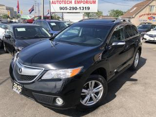 Used 2015 Acura RDX Technology Pkg AWD/Navigation/Camera/Sunroof/Leather for sale in Mississauga, ON