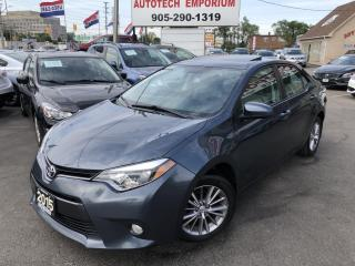 Used 2015 Toyota Corolla LE Plus Camera/Heated Seats/Sunroof/Alloys&GPS* for sale in Mississauga, ON