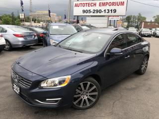 Used 2015 Volvo S60 AWD T6 Premier Plus/Leather/Cam/Sunroof for sale in Mississauga, ON