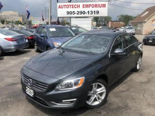 Used 2015 Volvo S60 AWD T5 Premier Plus Leather/Camera/Sunroof/GPS* for sale in Mississauga, ON