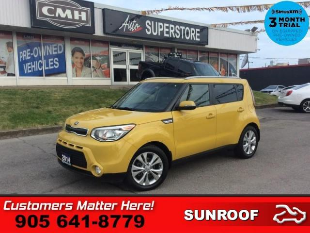 2014 Kia Soul EX+ Eco  SUNROOF HTD SEATS CAM BT ALLOYS