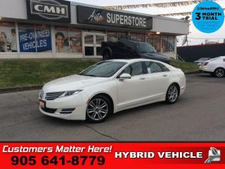 Used 2015 Lincoln MKZ Hybrid  HYBRID RESERVE BS CS P/TRUNK NAV for sale in St. Catharines, ON