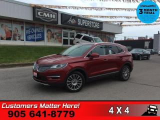 Used 2015 Lincoln MKC Reserve  RESERVE TECH ADAP-CC SELF-PARK NAV for sale in St. Catharines, ON