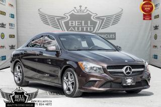 Used 2015 Mercedes-Benz CLA-Class CLA 250, 4MATIC, NAVI, PANO ROOF, BLINDSPOT, PARK SENSORS for sale in Toronto, ON