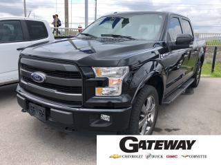 Used 2016 Ford F-150 Lariat|SUPERCREW|SUNROOF|NAVI| for sale in Brampton, ON