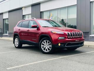 Used 2015 Jeep Cherokee LIMITED 4X4 V6 GARANTIE PLAN OR for sale in Ste-Marie, QC
