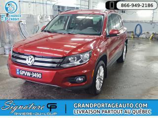 Used 2015 Volkswagen Tiguan Spéciale Édition 4MOTION Auto *Bas Km* for sale in Rivière-Du-Loup, QC