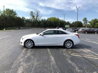 Used 2015 Cadillac ATS Luxury Turbo Coupe AWD for sale in Cayuga, ON