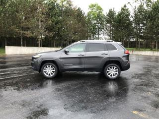 Used 2014 Jeep Cherokee Limited 4X4 for sale in Cayuga, ON