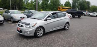 Used 2014 Hyundai Accent  GLS hatch safetied 161k sunroof GLS for sale in Madoc, ON