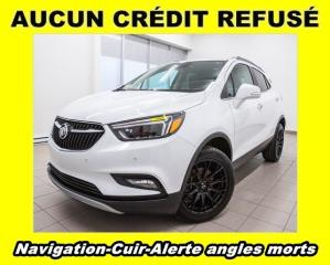 Used 2017 Buick Encore PREMIUM AWD ALERTE ANGLE MORT CUIR *NAV* for sale in St-Jérôme, QC
