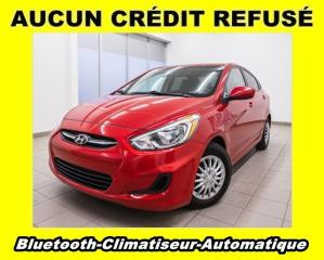Used 2017 Hyundai Accent LE CLIMATISEUR *BLUETOOTH* for sale in St-Jérôme, QC