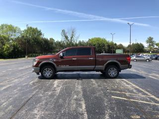 Used 2016 Nissan TITAN XD SL PLATINUM RESERVE 4X4 for sale in Cayuga, ON