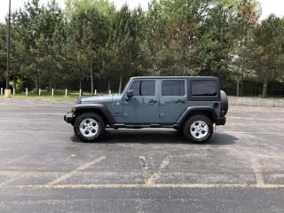 Used 2014 Jeep WRANGLER UNLIMITED SPORT 4X4 for sale in Cayuga, ON