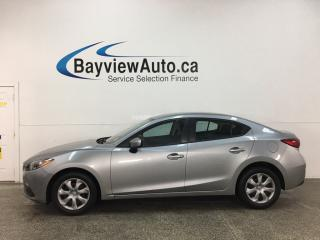 Used 2016 Mazda MAZDA3 GX - 6SPD! 27,000KMS! PWR GROUP! OFF 1 OWNER LEASE! for sale in Belleville, ON