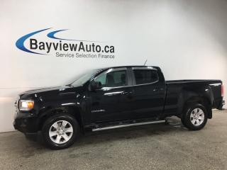 Used 2017 GMC Canyon SLE - DURAMAX DIESEL! 4X4! INTELLILINK! ONSTAR! PWR GROUP! + MORE! for sale in Belleville, ON