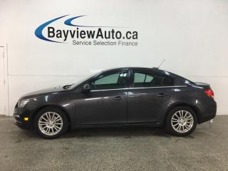 Used 2015 Chevrolet Cruze ECO - 19,000KMS! AUTO! A/C! ALLOYS! PWR GROUP! for sale in Belleville, ON