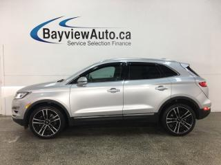 Used 2017 Lincoln MKC Reserve - AWD! PANOROOF! HTD/COOLED LTHR! ADAPTIVE CRUISE! LOADED! for sale in Belleville, ON