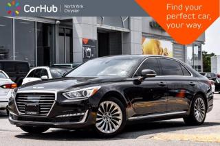 Used 2018 Genesis G90 3.3T Lexicon Sound Headsup Display Sunroof Navigation Blind Spot Lane Keep for sale in Thornhill, ON