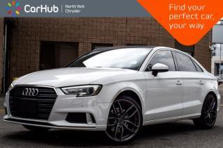 Used 2018 Audi A3 Sedan Komfort|AWD|Sunroof|SiriusXM|Bluetooth|Heat.Frnt.Seats|Keyless.Go| for sale in Thornhill, ON