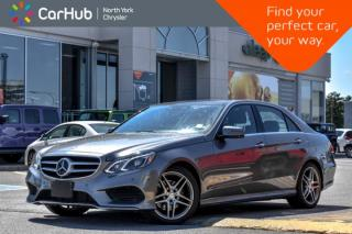 Used 2016 Mercedes-Benz E-Class E 250 BlueTEC|AMG.Styling,Sport,Keyless.Go.Pkgs|Pano.Sunroof| for sale in Thornhill, ON