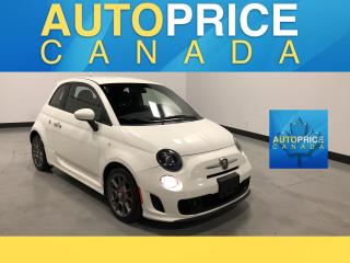 Used 2015 Fiat 500 Abarth LEATHER|ALLOYS for sale in Mississauga, ON