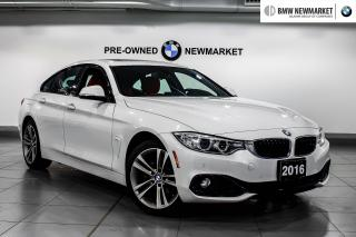 Used 2016 BMW 428i xDrive Gran Coupe -1OWNER NO ACCIDENTS  LOW KMS  for sale in Newmarket, ON