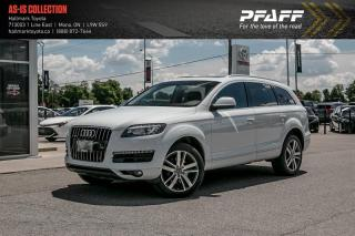 Used 2014 Audi Q7 TDI 8sp Tiptronic Progressiv for sale in Orangeville, ON