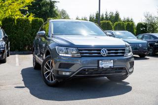 New 2019 Volkswagen Tiguan Comfortline <b>*VEGAN LEATHER* * HUGE SUNROOF* *APPLE CARPLAY* *ANDROID AUTO* *HEATED SEATS* *BLUETOOTH*<b> for sale in Surrey, BC