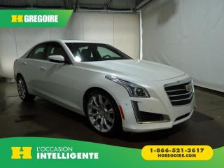 Used 2015 Cadillac CTS PERFORMANCE V6 AWD for sale in St-Léonard, QC