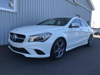 Used 2014 Mercedes-Benz CLA-Class LOW KMs | ALL WHEEL DRIVE | LEATHER INTERIOR | BACKUP CAMERA! for sale in Charlottetown, PE
