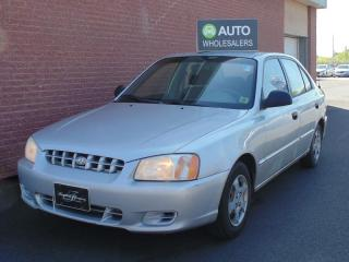 Used 2002 Hyundai Accent GL THIS WHOLESALE CAR WILL BE SOLD AS-TRADED! INQUIRE FOR MORE! for sale in Charlottetown, PE