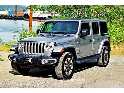 Used 2018 Jeep Wrangler Jl Unlimited Sahara For Sale In Vancouver