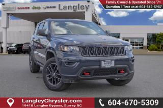 Used 2018 Jeep Grand Cherokee Trailhawk - Leather Seats for sale in Surrey, BC