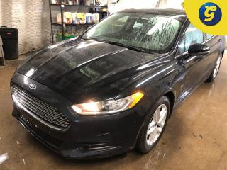 Used 2014 Ford Fusion Ford SYNC Microsoft * Reverse camera * 17 Inch alloys * Hands free steering wheel controls * Voice recognition * Phone connect * Keyless entry * Clima for sale in Cambridge, ON