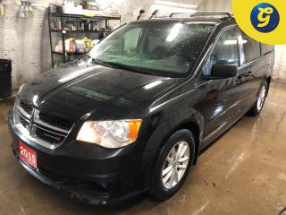 Used 2015 Dodge Grand Caravan SXT Plus *Stow N Go * DVD player 2nd Row Overhead DVD * Reverse camera *  U connect touchscreen * Power Mid Row Windows/Rear Vents * 3 Zone Man Contro for sale in Cambridge, ON