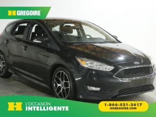 Used 2015 Ford Focus SE AC GR ELEC for sale in St-Léonard, QC