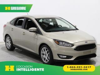 Used 2015 Ford Focus SE A/C GR ELECT for sale in St-Léonard, QC