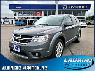 Used 2012 Dodge Journey SXT FWD  - Low Kms for sale in Port Hope, ON