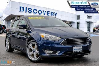 Used 2016 Ford Focus Titanium for sale in Burlington, ON