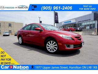 Used 2011 Mazda MAZDA6 GT-I4 GT | LEATHER | SUNROOF | BLUETOOTH | HEATED SEATS for sale in Hamilton, ON