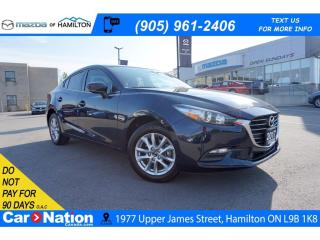 Used 2017 Mazda MAZDA3 GS | SUNROOF | REAR CAM | 6 SPEED | HEATED SEATS for sale in Hamilton, ON