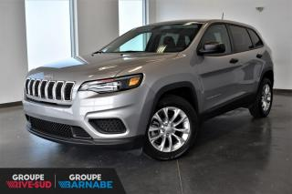 Used 2019 Jeep Cherokee SPORT + VEHICULE NEUF + LIQUIDATION for sale in St-Jean-Sur-Richelieu, QC