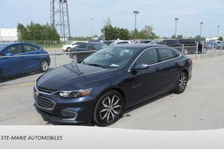 Used 2017 Chevrolet Malibu LT 1.5L Turbo cuir navigation toit ouvrant for sale in St-Rémi, QC