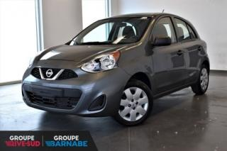 Used 2017 Nissan Micra S || MANUELLE || BAS KM S || MANUELLE || BAS KM for sale in Brossard, QC