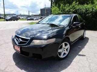 Used 2004 Acura TSX Leather | Sunroof | Alloy wheels | for sale in BRAMPTON, ON