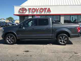 Used 2017 Ford F-150 XLT 4x4 supercrew sport in grey for sale in Cambridge, ON