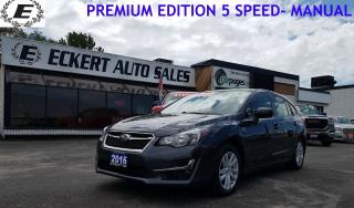 Used 2016 Subaru Impreza 2.0i w/Touring Pkg for sale in Barrie, ON