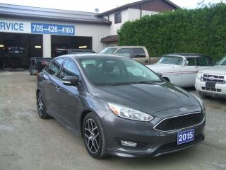Used 2015 Ford Focus SE for sale in Beaverton, ON