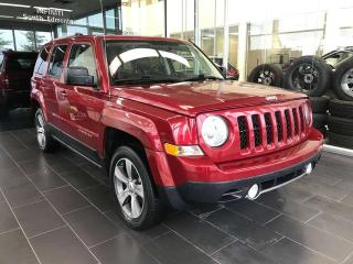 Used 2016 Jeep Patriot HIGH ALTITUDE, ACCIDENT FREE, POWER HEATED LEATHER SEATS, SATELLITE RADIO for sale in Edmonton, AB